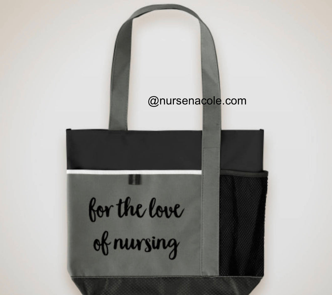 Nursing School Bag Carry Tote