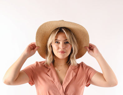 Beach Babe Straw Hat // Natural