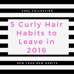 Curly Hair Habits To Leave