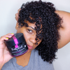 Natural hair mask for curly hair