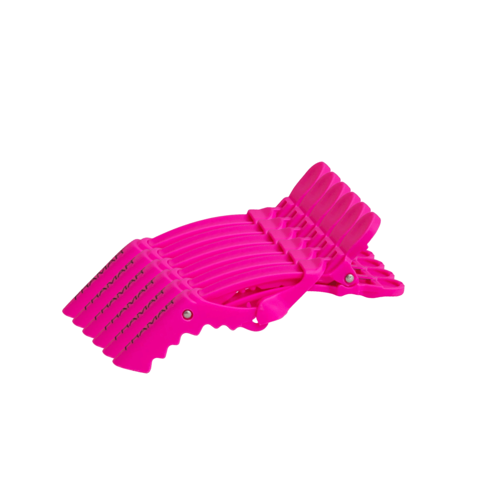 6 Pack Alligator Sectioning Hair Clips