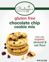 Load image into Gallery viewer, gluten free chocolate chip cookie mix - 3 count