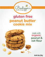 Load image into Gallery viewer, gluten free peanut butter cookie mix - 3 count