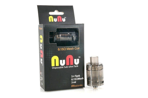 SIKARY NUNU DISPOSABLE TANK (PACK OF 3) - VAPE TOOLS