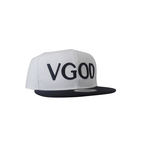 White Snapback Hat - VAPE TOOLS