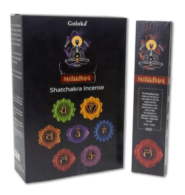 First Chakra Incense - ROOT - Agarwood, Patchouli