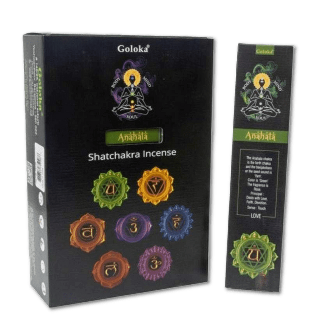 Fourth Chakra Incense - LOVE - Rose