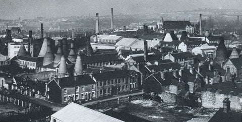 An overview of the Longton Pottery factories in the 1960s