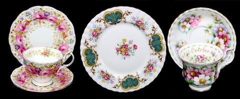 Just an example of some of the beautiful designs made by Royal Albert across the years.