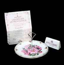 Load image into Gallery viewer, Vintage Royal Albert Queen Mother's Favourite Flowers Camellia cake stand