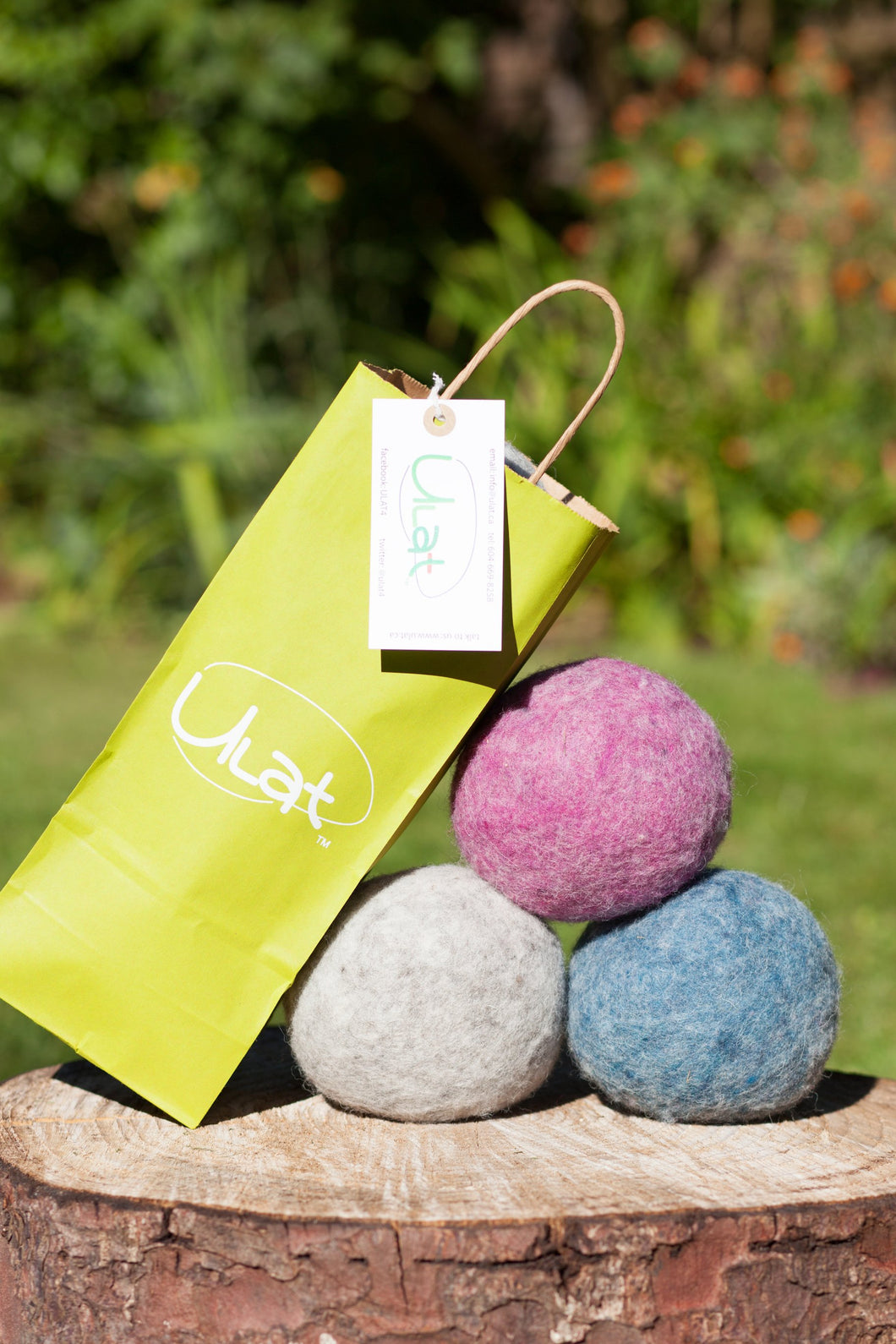 ULAT Dryer Balls multi-colour set