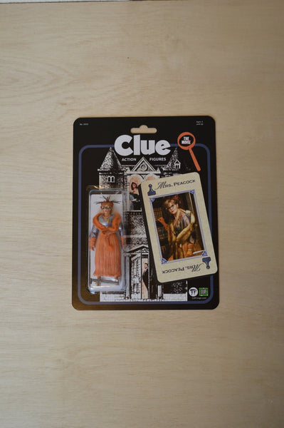 Mrs Peacock Clue the Movie 1985 - handmade action figure