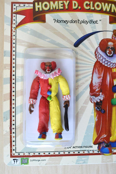 Homey D Clown - In Living Color Action Figure - Handmade toy