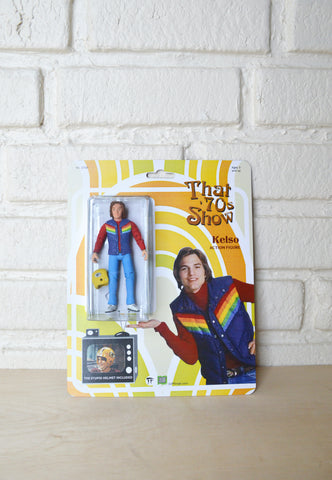 That 70s Show Kelso - Ashton Kutcher action figure - Handmade toy