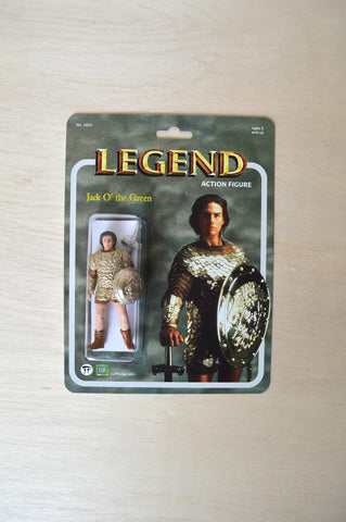 Jack O the Green Legend Movie 1985 - handmade action figure - Tom Cruise