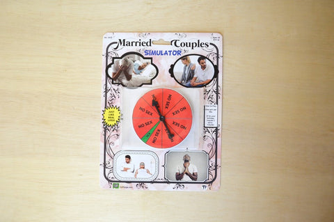 The Married Couple Simulator game - Handmade parody toy