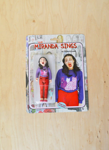 Miranda Sings Handmade Action Figure with Froze Toes