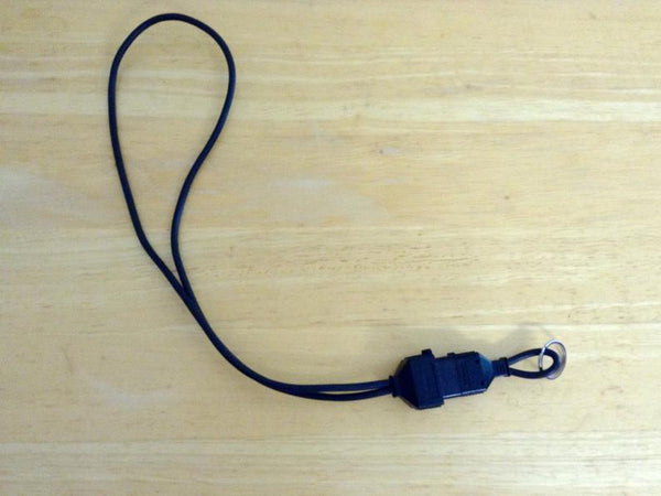 Nintendo NES Lanyard with key Chain Upcycled Real Video Game Plug