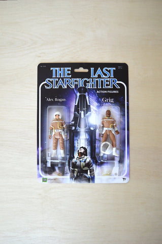 The Last Starfighter - Action Figure play set - Handmade toy