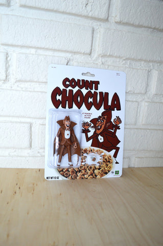 Count Chocula action figure - Handmade toy