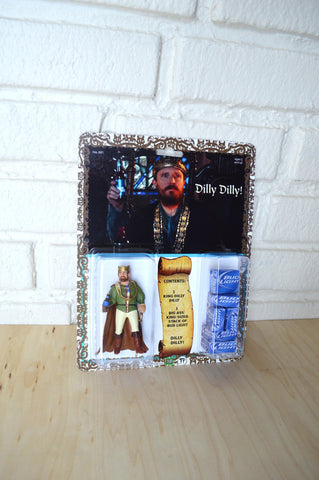 Bud Light King Dilly Dilly Action Figure - Handmade toy