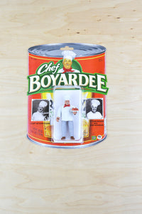 Chef Boyardee Action Figure - Handmade toy