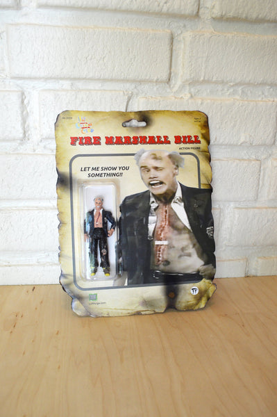 Fire Marshall Bill - Jim Carrey- Action Figure - Handmade toy