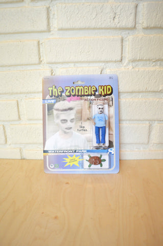 The Zombie Kid action figure - Handmade toy