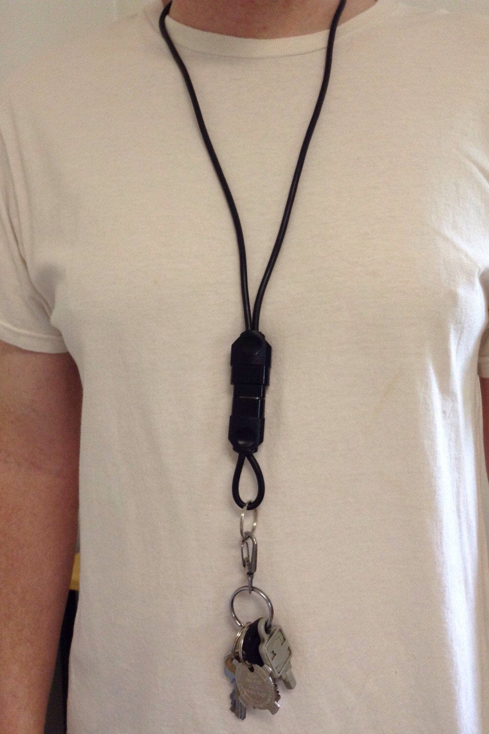 Xbox Lanyard with key Chain Upcycled Real Video Game Plug