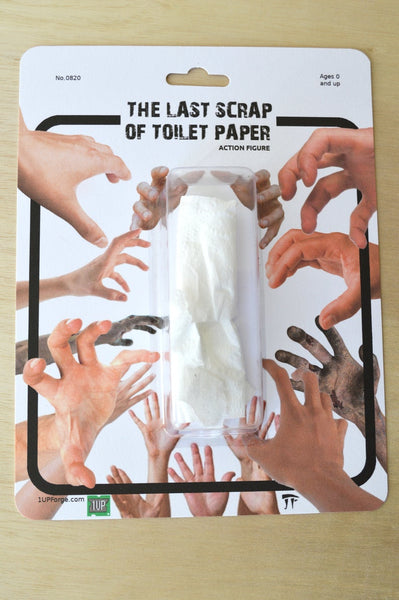 The Last Scrap of Toilet Paper Action Figure Gag Gift