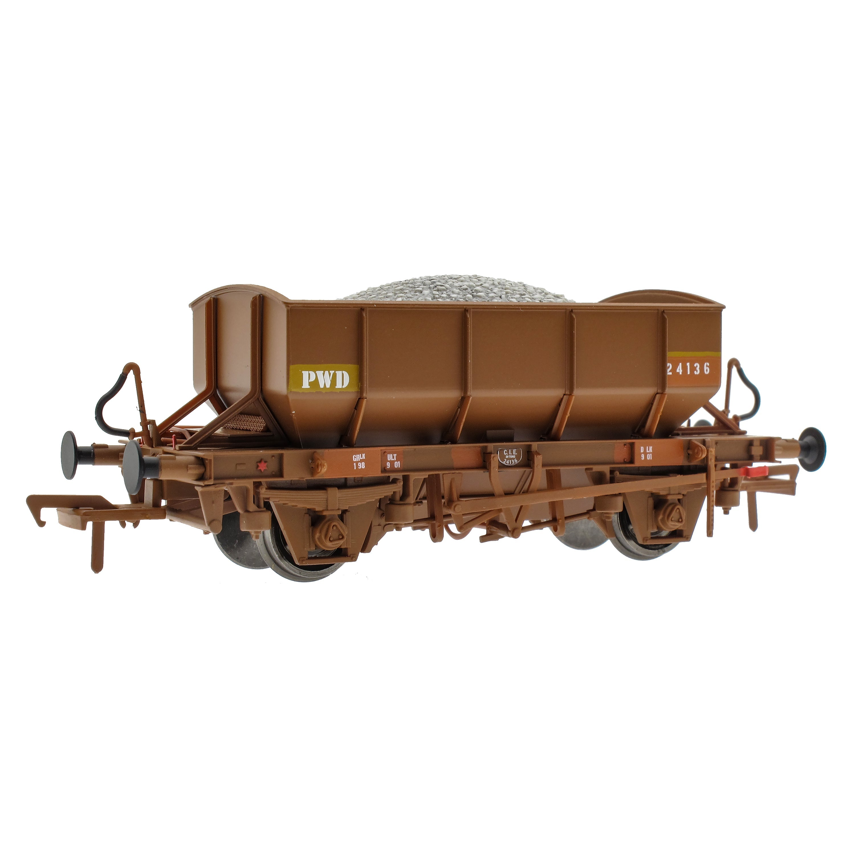 IE Ballast Wagon - Pack E