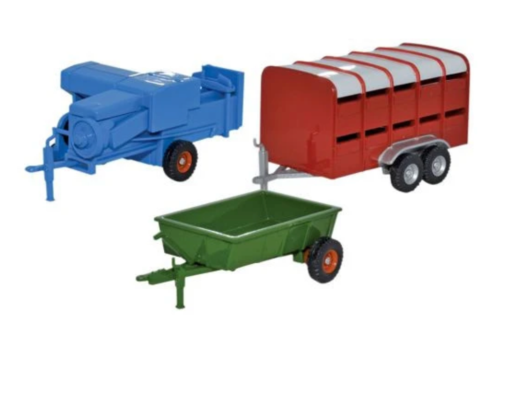Set - 3 Piece Farm Trailers