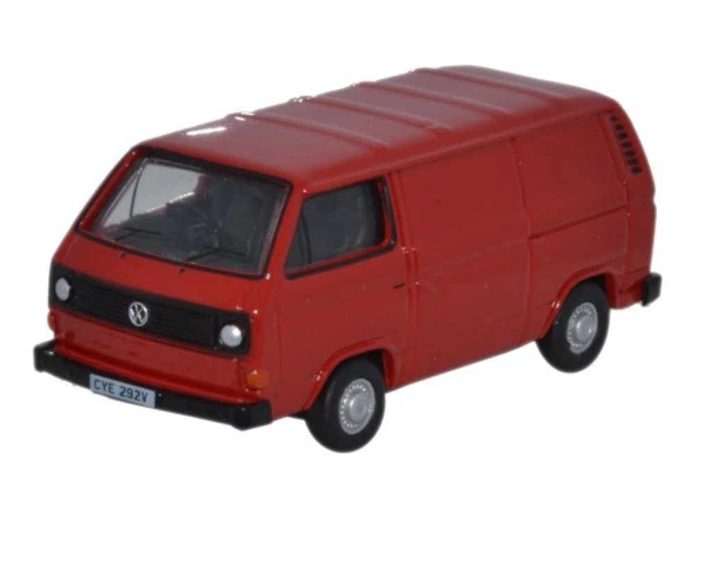 VW T25 Van - Orient Red