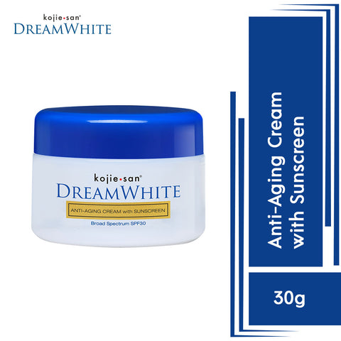 Kojie.San Dreamwhite Anti-Aging Cream With Sunscreen 30g