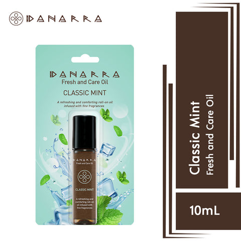 Danarra  Fresh And Care Oil- Classic Mint 10ml