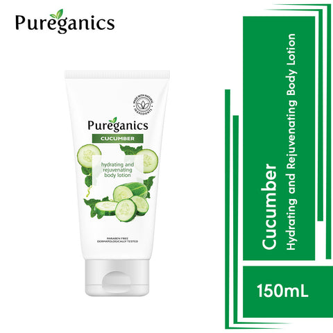 Pureganics Cucumber- Hydrating And Rejuvenating Body Lotion 150g