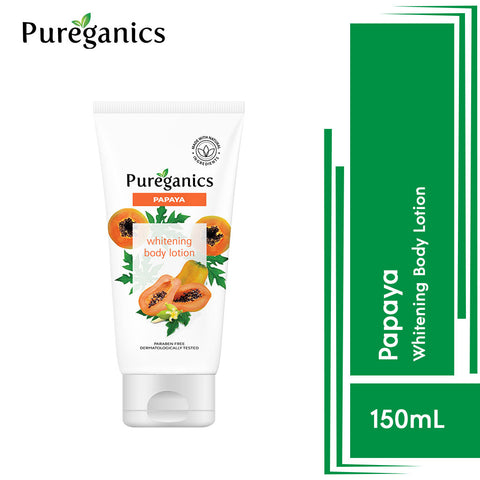 Pureganics Papaya- Whitening Body Lotion 150g