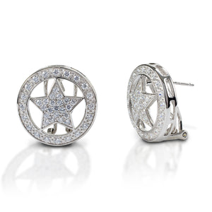 Kelly Herd Large Star Earrings - 14k Gold