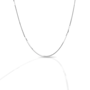 Kelly Herd 1.8MM Box Chain - Sterling Silver