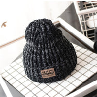 Black Gray Winter Hats