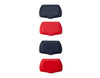 red and navy flip top lid for wet wipes replacement - snap flip lid