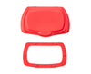 red flip top lid for wet wipes replacement - snap flip lid