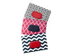 wet wipes dispenser holder case black geometric pink lattice navy chevron