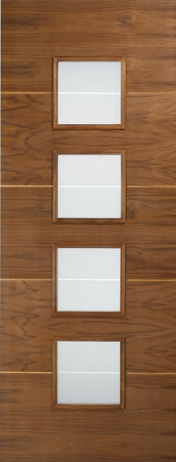 Amadora Walnut Door