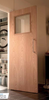 Glazed FD60 Oak Veneer Fire Door
