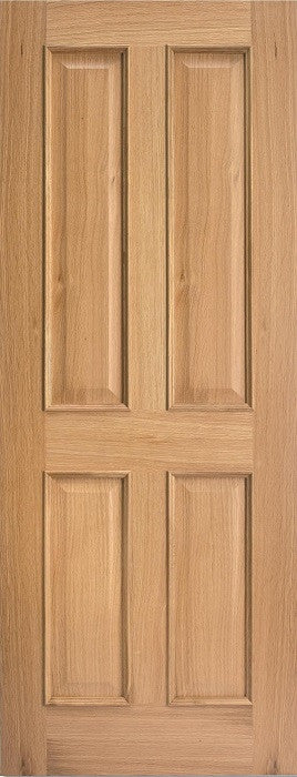 Oak Regency 4 Panel RM Door