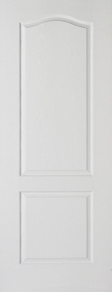 2 panel arch top fire door