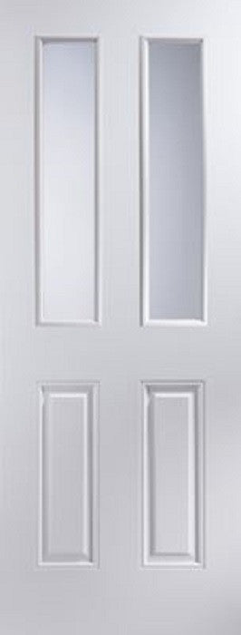 Canterbury 2 Light Glazed Fire Door