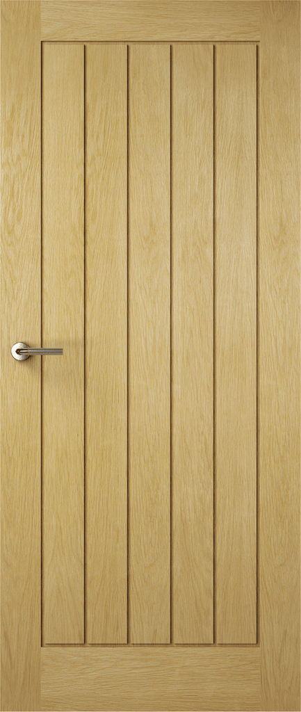 Solid Croft Oak Door