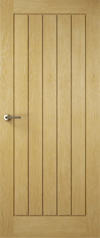 Solid Croft Oak Fire Door